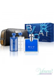 Bvlgari BLV Pour Homme Set (EDT 100ml + AS Balm 75ml + SG 75ml + Bag) για άνδρες Αρσενικά Σετ