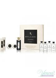 Bvlgari Eau Parfumee Au The Noir Set (EDC 75ml + SG 75ml + BL 75ml + Shampoo 75ml + 75ml Hair Conditioner + Refreshing Towels + Soap) για άνδρες και Γυναικες Unisex Gift sets