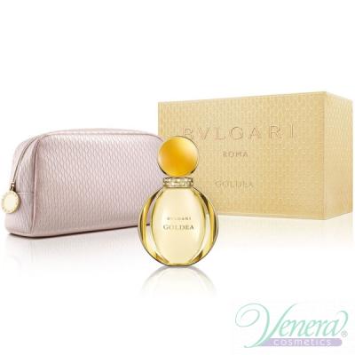 Bvlgari Goldea Комплект (EDP 90ml + Bag) за Жени Дамски Комплекти