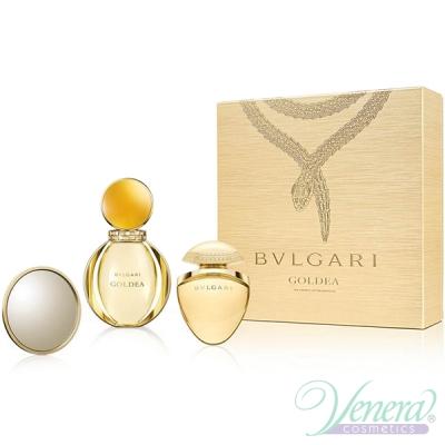 Bvlgari Goldea Комплект (EDP 50ml + EDP 25ml Jewel Charm + Mirror) за Жени Дамски Комплекти