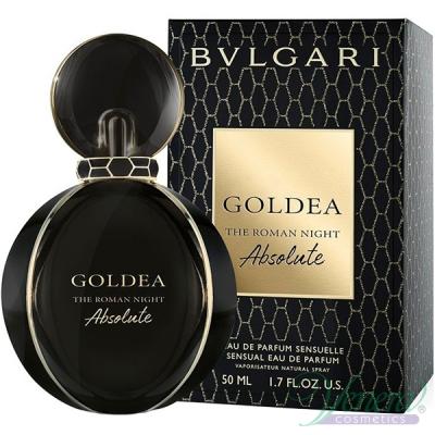 Bvlgari Goldea The Roman Night Absolute EDP 50ml за Жени Дамски Парфюми