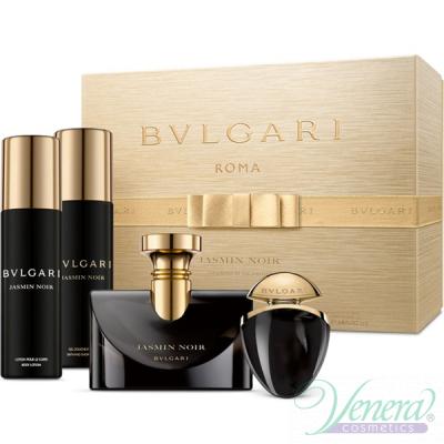 Bvlgari Jasmin Noir Комплект (EDP 100ml + EDP 25ml + BL 200ml + SG 200ml) за Жени Дамски Комплекти