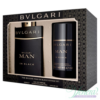 Bvlgari Man In Black Комплект (EDP 100ml +...