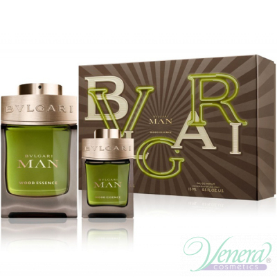 Bvlgari Man Wood Essence Комплект (EDP 100ml + EDP 15ml) за Мъже