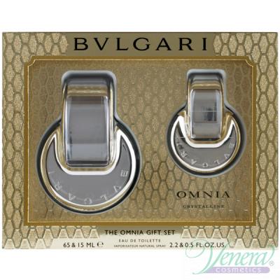 Bvlgari Omnia Crystalline Комплект (EDT 65ml + EDT 15ml) за Жени