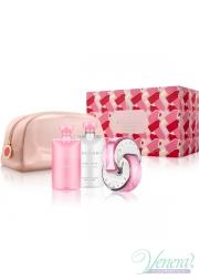 Bvlgari Omnia Pink Sapphire Set (EDT 65ml + BL 75ml + SG 75ml + Bag) για γυναίκες Γυναικεία Σετ