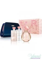 Bvlgari Rose Goldea Set (EDP 90ml + BL 75ml + SG 75ml + Bag) για γυναίκες Women's Gift sets