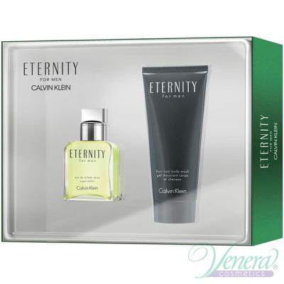 Calvin Klein Eternity Комплект (EDT 30ml + Hair & Body Wash 100ml) за Мъже Мъжки Комплекти