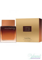 Calvin Klein Euphoria Amber Gold EDP 100ml για άνδρες