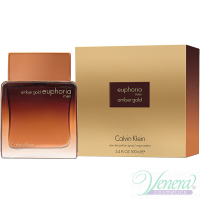 Calvin Klein Euphoria Amber Gold EDP 100ml for Men Men's Fragrance