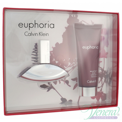 Calvin Klein Euphoria Set (EDP 30ml + Body Lotion 100ml) за Жени Дамски Комплекти