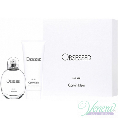 Calvin Klein Obsessed For Men Комплект (EDT 75ml + Hair & Body Wash 100ml) за Мъже Мъжки Комплекти
