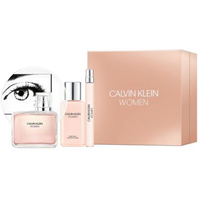 Calvin Klein Women Комплект (EDP 100ml + EDP 10ml + BL 100ml) за Жени Дамски Комплекти