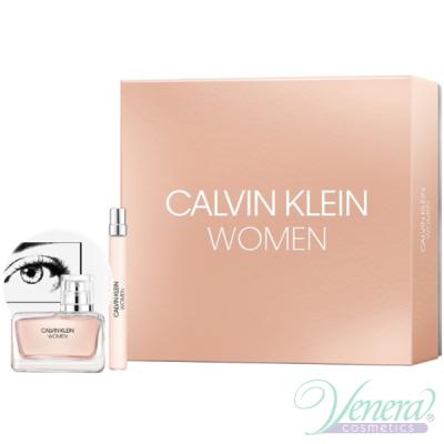 Calvin Klein Women Set (EDP 50ml + EDP 10ml) pentru Femei Seturi