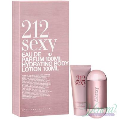 Carolina Herrera 212 Sexy Комплект (EDP 60ml + BL 100ml) за Жени Дамски Комплекти