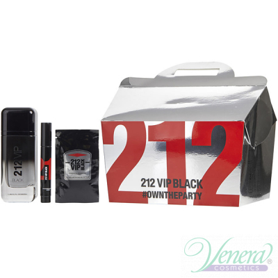 Carolina Herrera 212 VIP Black Set (EDP 10...