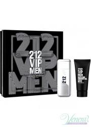 Carolina Herrera 212 VIP Men Set (EDT 100ml + Shower Gel 100ml) for Men Men's Gift sets