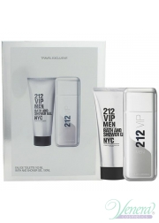 Carolina Herrera 212 VIP Men Set (EDT 100ml + Shower Gel 100ml) for Men Men's Gift sets