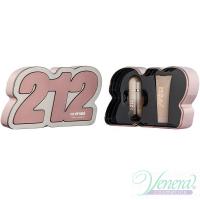 Carolina Herrera 212 VIP Rose Set (EDP 50ml + BL 75ml) for Women Women's Gift sets