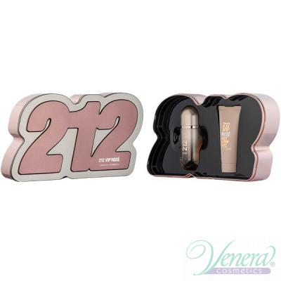 Carolina Herrera 212 VIP Rose Комплект (EDP 50ml + BL 75ml) за Жени