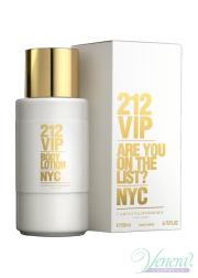 Carolina Herrera 212 VIP Body Lotion 200ml για γυναίκες Γυναικεία προϊόντα για πρόσωπο και σώμα