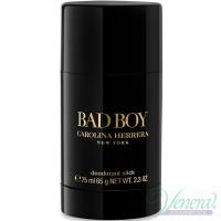 Carolina Herrera Bad Boy Deo Stick 75ml за Мъже Мъжки продукти за лице и тяло