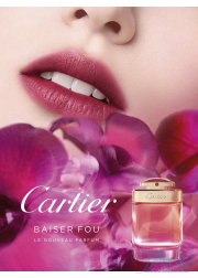 Cartier Baiser Fou EDP 75ml για γυναίκες ασυσκεύαστo Women's Fragrances without package