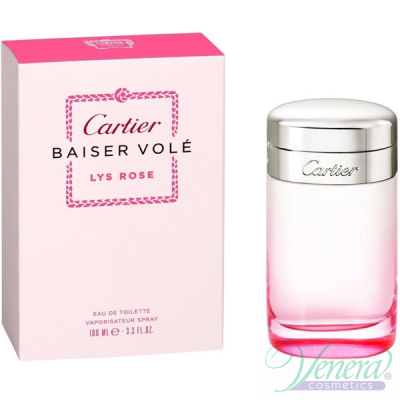 Cartier Baiser Vole Lys Rose EDT 100ml за Жени Дамски Парфюми