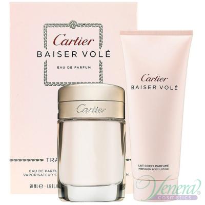 Cartier Baiser Vole Комплект (EDP 50ml + BL 100ml) за Жени Дамски Комплекти