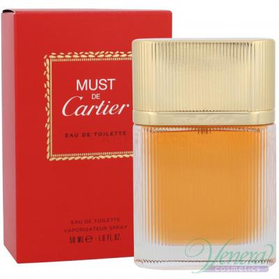 Cartier Must de Cartier EDT 50ml за Жени Дамски Парфюми