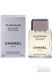 Chanel Egoiste Platinum EDT 100ml για άνδρες Men's Fragrance