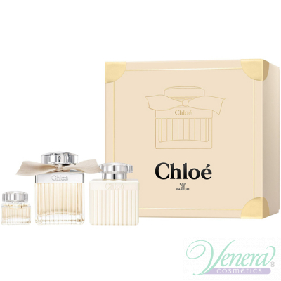 Chloe Комплект (EDP 75ml + EDP 5ml + BL 100ml) за Жени За Жени