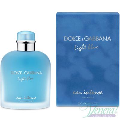 Dolce&Gabbana Light Blue Eau Intense Pour Homme EDP 200ml за Мъже