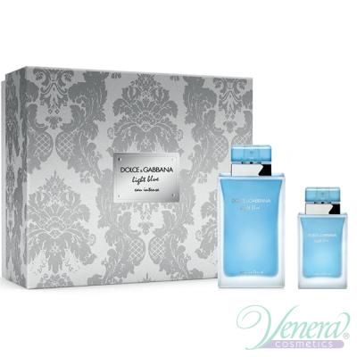 Dolce&Gabbana Light Blue Eau Intense Комплект (EDP 100ml + EDP 25ml) за Жени