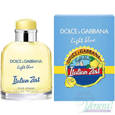 Dolce&Gabbana Light Blue Italian Zest Pour Homme EDT 125ml за Мъже