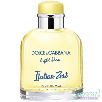 D&G Light Blue Italian Zest Pour Homme EDT 125ml за Мъже БЕЗ ОПАКОВКА Мъжки Парфюми без опаковка