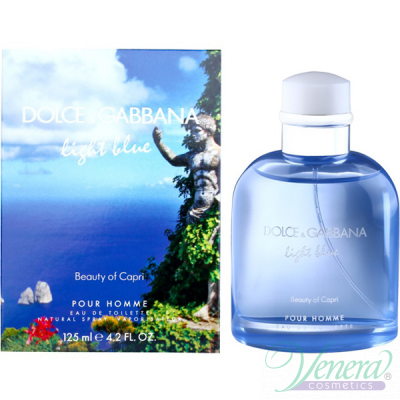 Dolce&Gabbana Light Blue Beauty of Capri EDT 125ml за Мъже Мъжки Парфюми