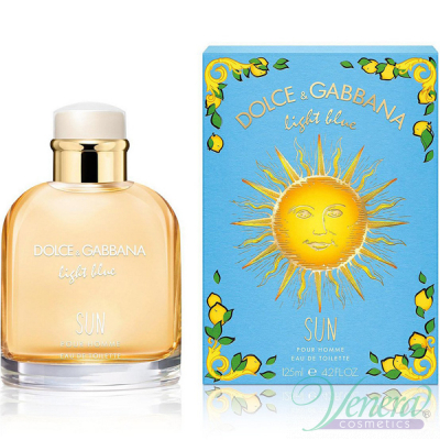 Dolce&Gabbana Light Blue Sun Pour Homme EDT 125ml за Мъже