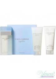 Dolce&Gabbana Light Blue Set (EDT 100ml + BL 100ml + SG 100ml) για γυναίκες Γυναικεία σετ