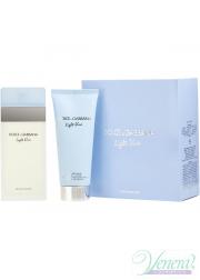 Dolce&Gabbana Light Blue Set (EDT 100ml + Body Cream 100ml) για γυναίκες Γυναικεία σετ