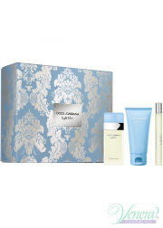 Dolce&Gabbana Light Blue Set (EDT 50ml + Body Cream 50ml + EDT 10ml) για γυναίκες Γυναικεία σετ