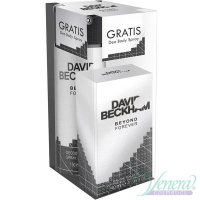 David Beckham Beyond Forever Комплект (EDT 40ml + Deo Spray 150ml) за Мъже