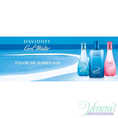 Davidoff Cool Water Caribbean Summer Edition EDT 100ml за Жени Дамски Парфюми