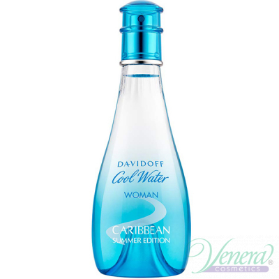 Davidoff Cool Water Caribbean Summer Edition EDT 100ml за Жени БЕЗ ОПАКОВКА