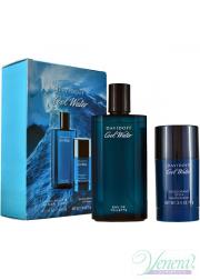 Davidoff Cool Water Set (EDT 125ml + Deo Stick 75ml) για άνδρες Ανδρικά Σετ