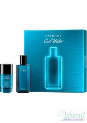 Davidoff Cool Water Set (EDT 75ml + Deo Stick 75ml) για άνδρες Ανδρικά Σετ