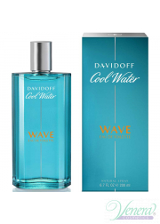 Davidoff Cool Water Wave EDT 200ml για άνδρες