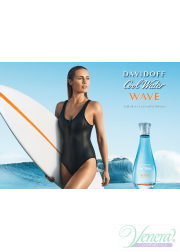 Davidoff Cool Water Woman Wave EDT 100ml για γυναίκες ασυσκεύαστo