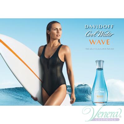 Davidoff Cool Water Woman Wave EDT 100ml за Жени БЕЗ ОПАКОВКА Дамски Парфюми без опаковка