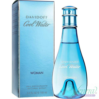 Davidoff Cool Water Eau Deodorante 100ml pentru Femei Women's face and body products